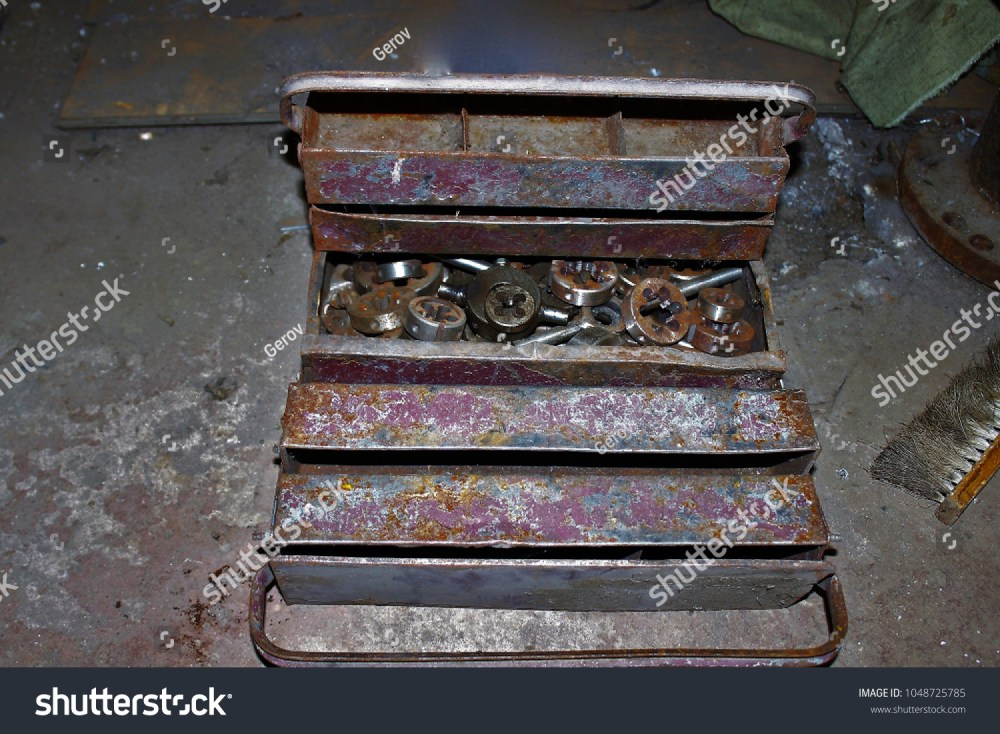 medium resolution of old iron box with the tool steampunk moscow russia
