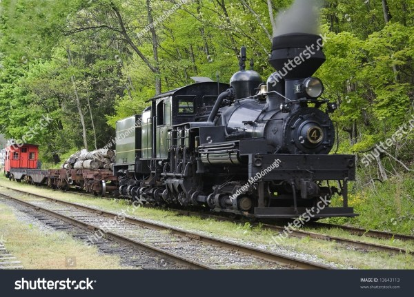 Steam Powered Gear Driven Locomotive Stock