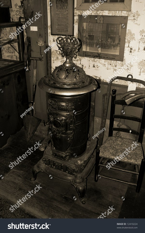 Time Wood Stove Stock 12410224 Shutterstock