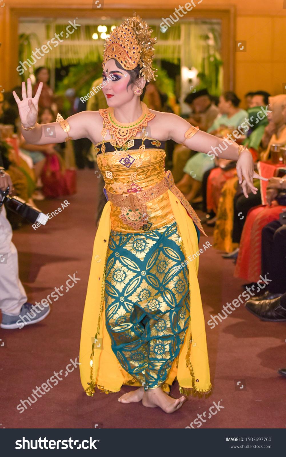 Download Video Tari Bali : download, video, Tamulilingan, Dance, Balinese, Stock, Photo, (Edit, 1503697760