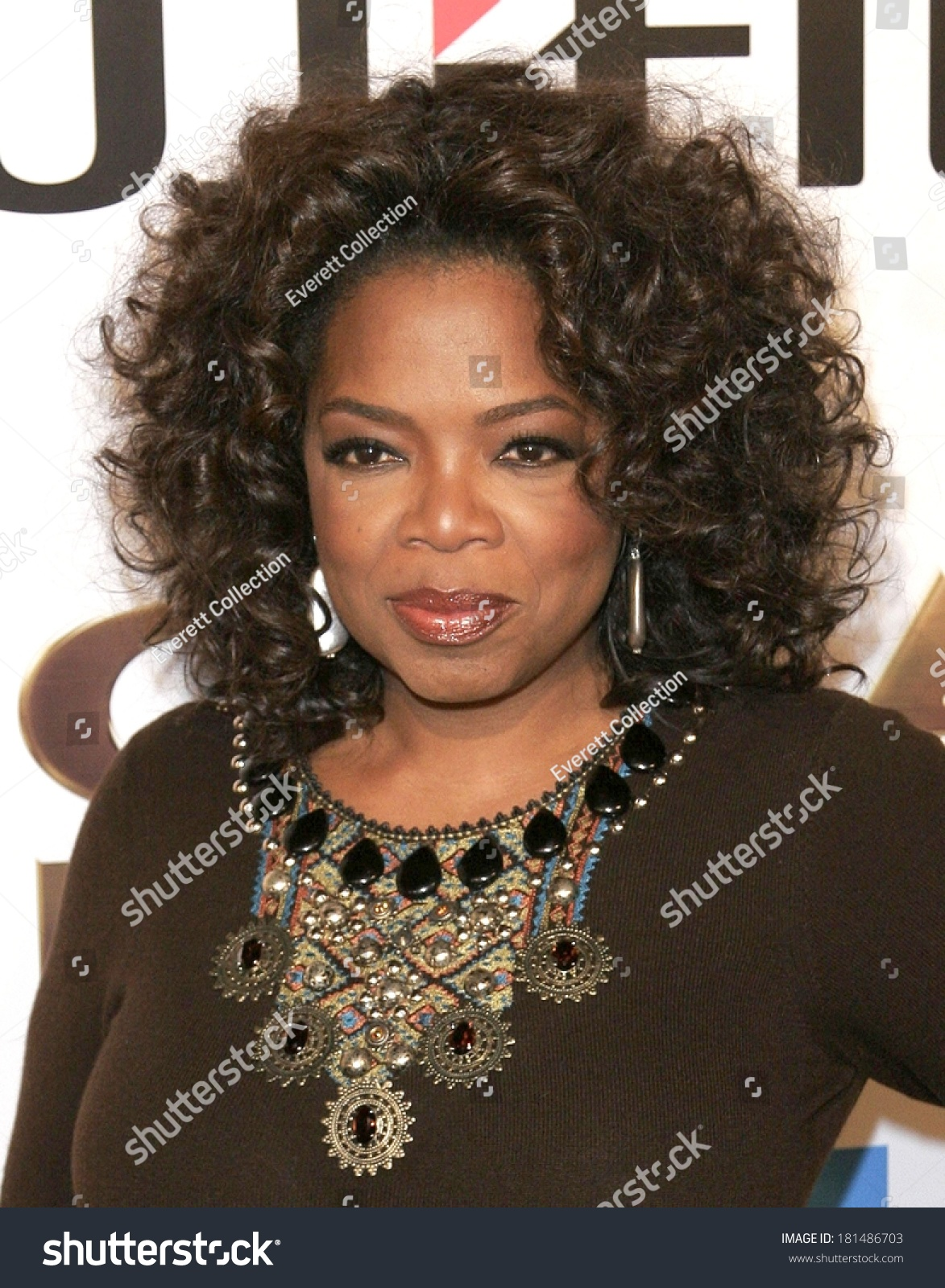 Oprah Winfrey At The Great Debaters Premiere, Arclight Cinerama Dome, Los Angeles, Ca, December 11, 2007 Stock Photo 181486703 : Shutterstock