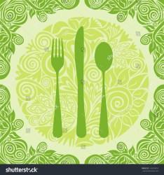 menu organic pattern shutterstock