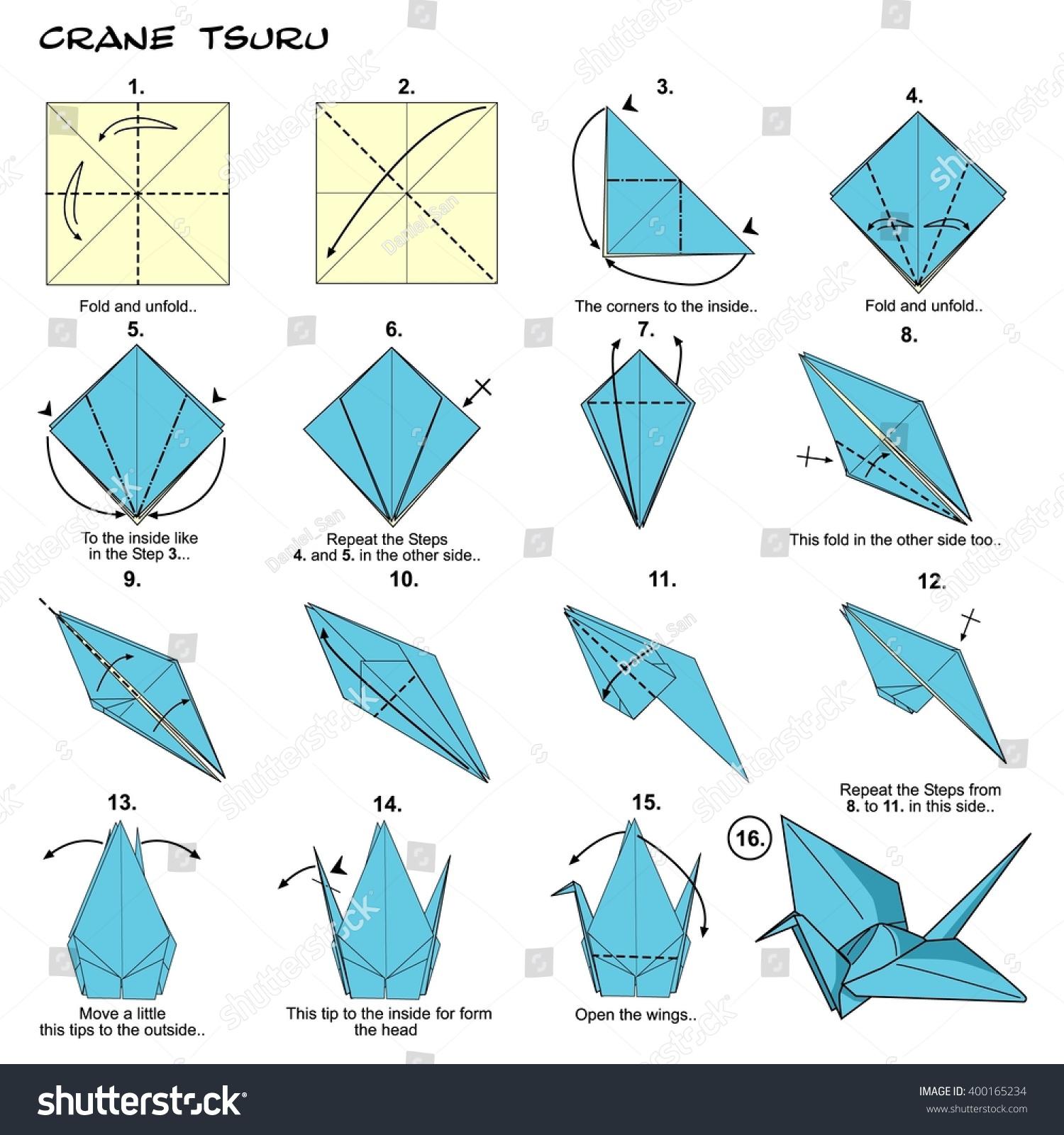 Japan Origami Worksheet