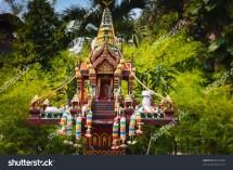 Outdoor Buddhist Altar Stock 60593200 Shutterstock