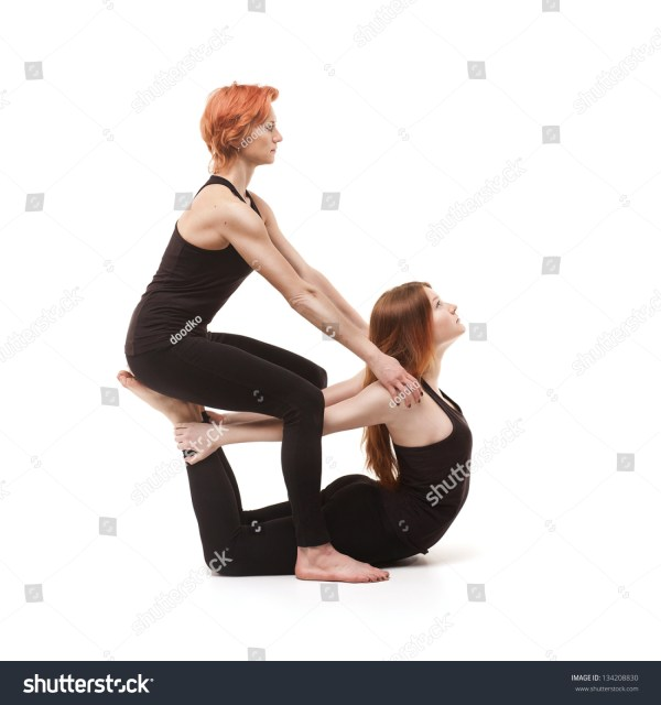 To Do With Two People Yoga Stances - Year of Clean Water