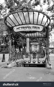 Paris France - 20 August 2014 Entrance