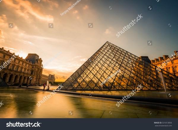 Paris France Louvre Art Museum