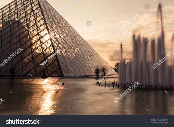 Paris France October 2016 Louvre Museum Stock 536753476 - Shutterstock