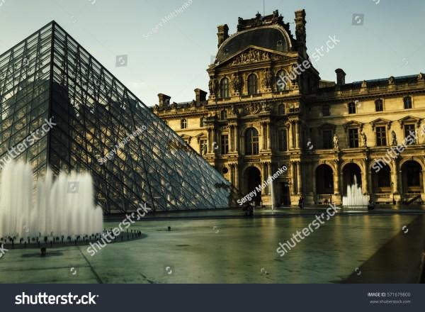 Paris France October 2016 Louvre Museum Stock 571679800 - Shutterstock