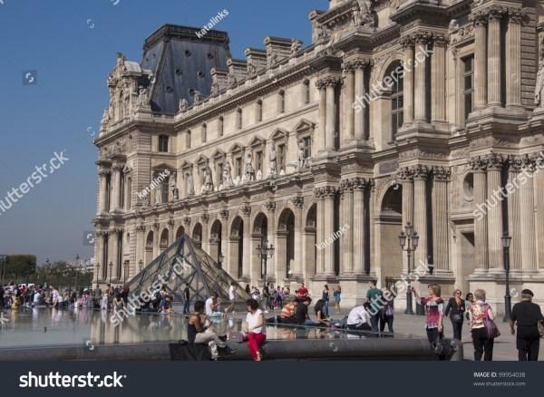 Paris September 29 Glass Pyramid Louvre Stock 99954038 - Shutterstock