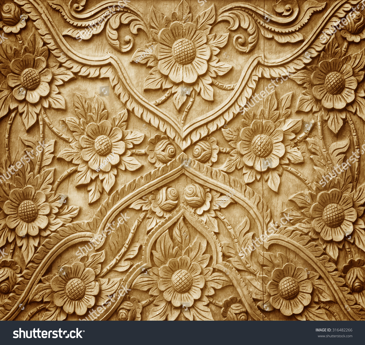 Flower wood carving patterns year of clean water