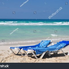 Perfect Beach Chairs Oak Round Dining Table 6 Tropical Cuba Santa Clara Stock Photo
