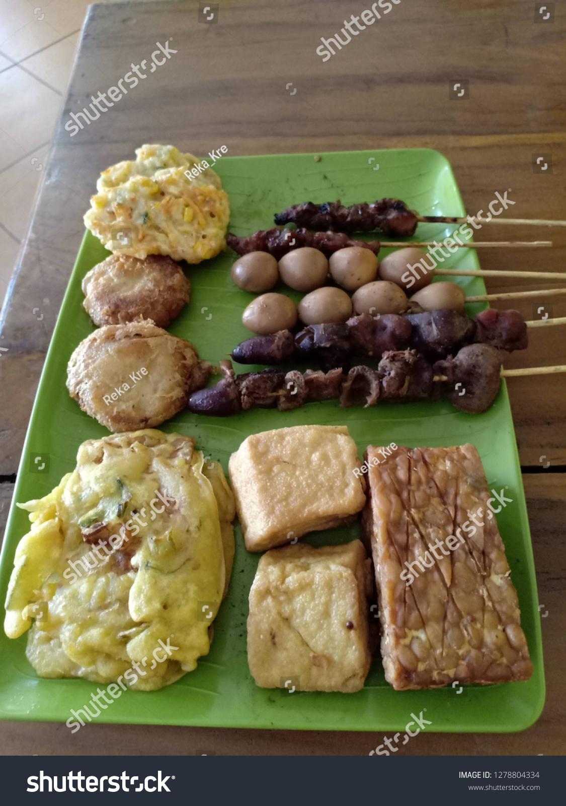 Tahu Telur Puyuh : telur, puyuh, Perkedel, Mendoan, Tempe, Telur, Puyuh, Stock, Photo, (Edit, 1278804334