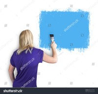 Pics For > A Person Painting A Wall