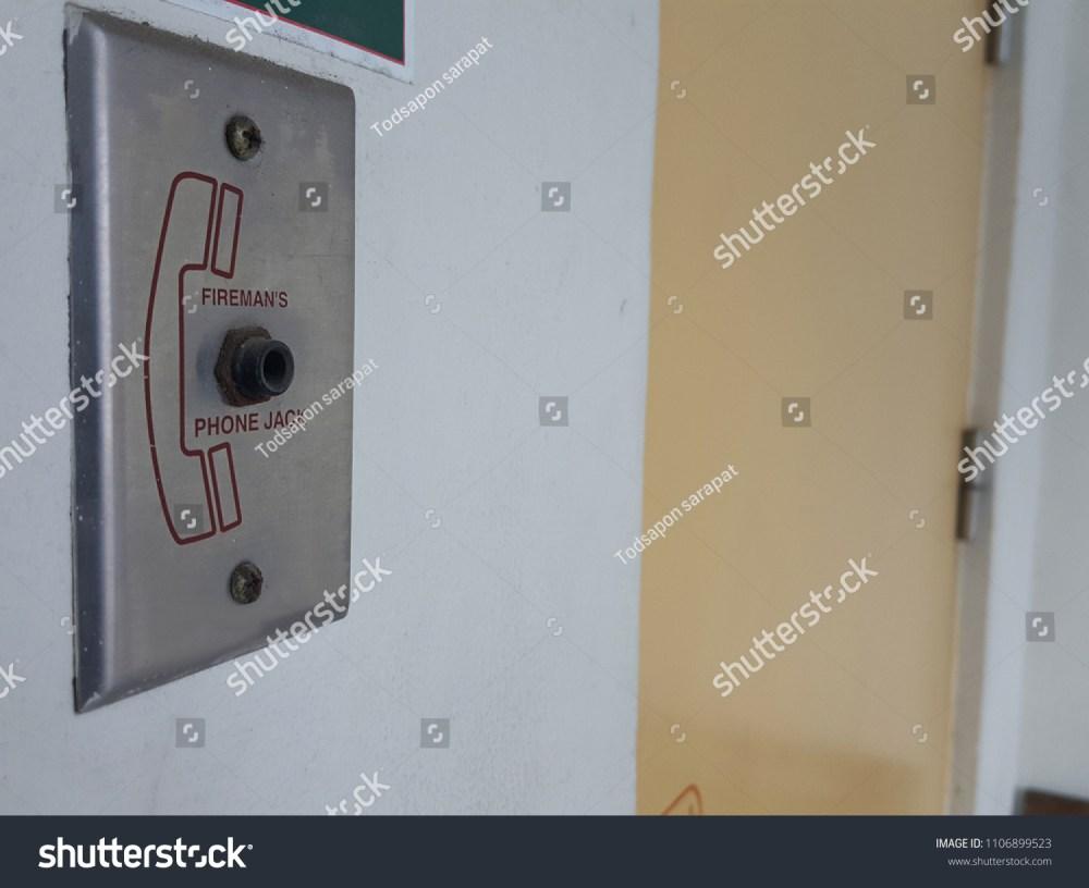 medium resolution of phone jack of fire alarm system