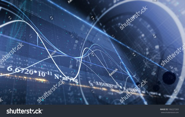 Physics Science Abstract Background Stock 106227269