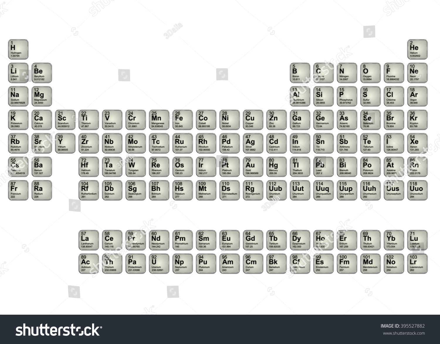 periodic elements diagram 8 foot fluorescent ballast wiring pictorial table stock illustration of the