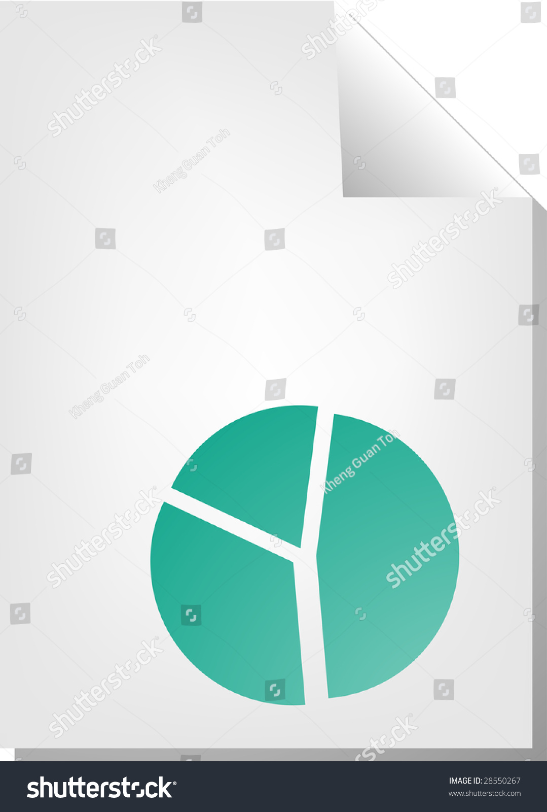 hight resolution of pie chart document file type illustration clipart
