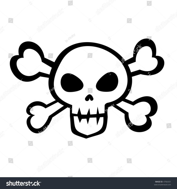 Pirate Skull Crossbones Stock Illustration 4766431