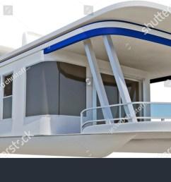 pontoon boat on white [ 1500 x 756 Pixel ]