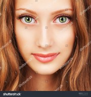 portrait young woman beautiful