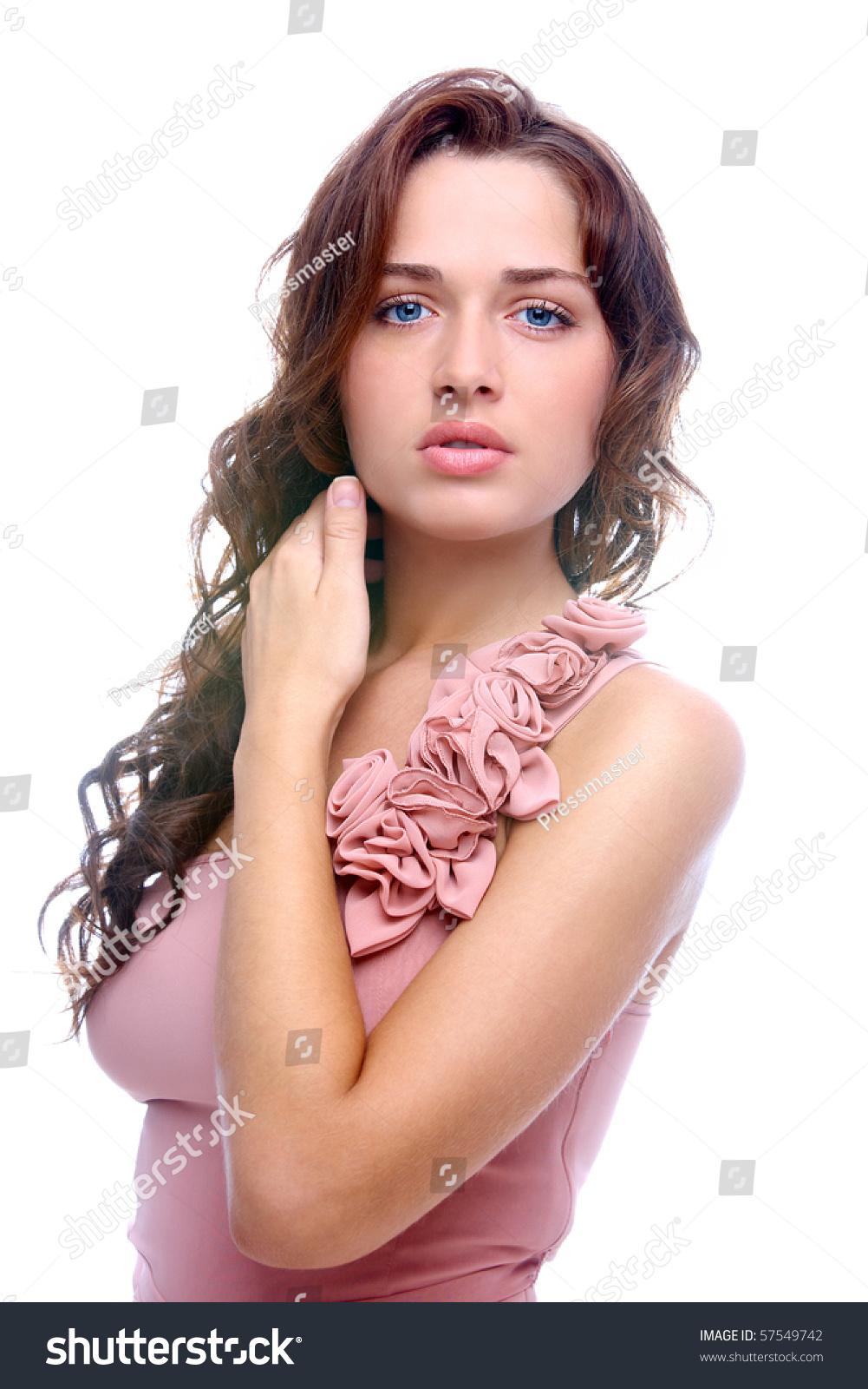Portrait Of Elegant Woman In Smart Dress Looking At Camera Stock Photo 57549742 : Shutterstock