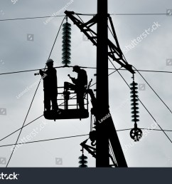 power line support insulators and wires appearance of a design assembly and installation [ 1500 x 1101 Pixel ]