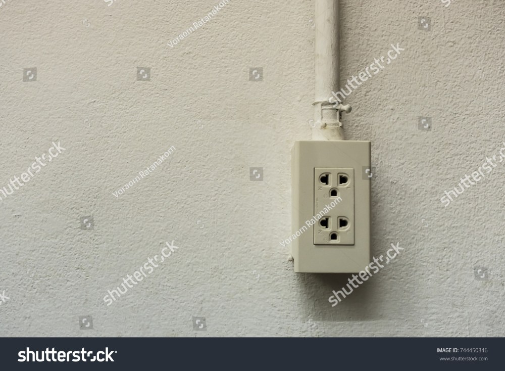 medium resolution of power outlet and wiring insert into the tube