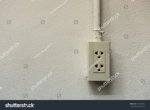 small resolution of power outlet and wiring insert into the tube