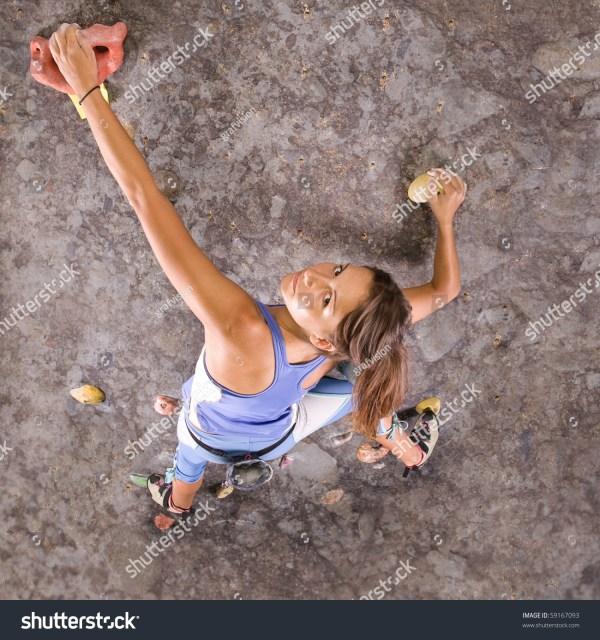 Indoor Rock Climbing Wall Girls