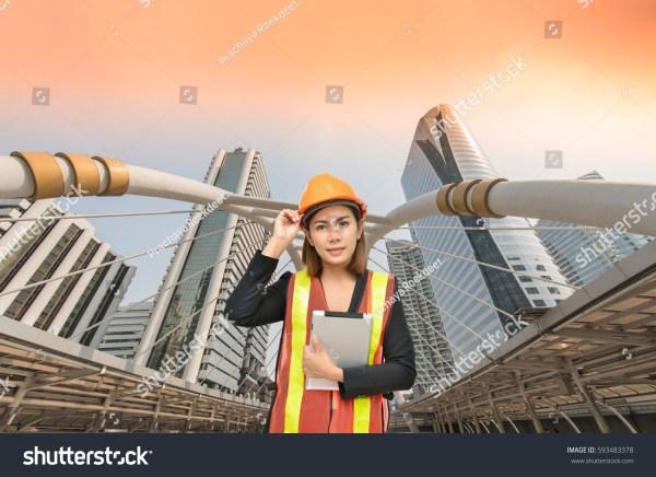 Professional Engineer Planning Construction Stock