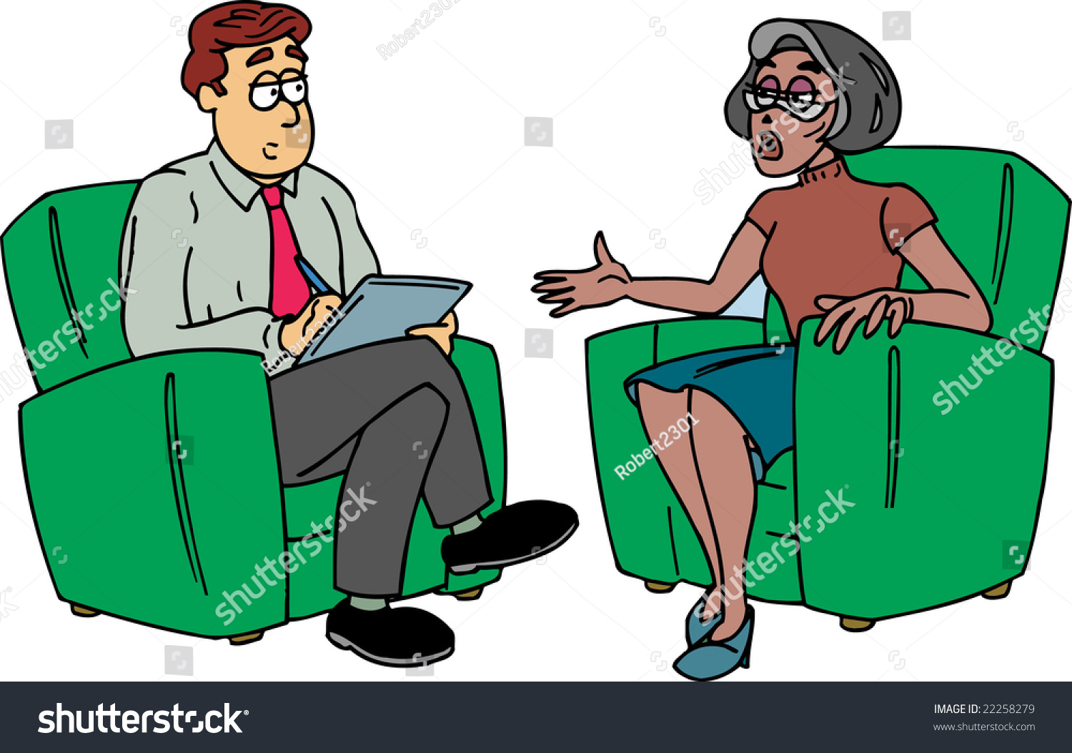 Psychiatrist Chair Psychiatrist Stock Illustration 22258279 Shutterstock