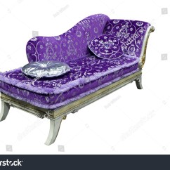 Purple Chaise Lounge Chair Restoration Hardware Madeline Review Stock Photo 23457640 Shutterstock