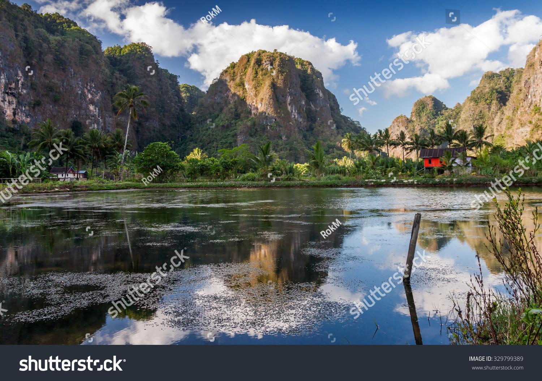 Rammang-Rammang. South Sulawesi. Indonesia Stock Photo 329799389 : Shutterstock
