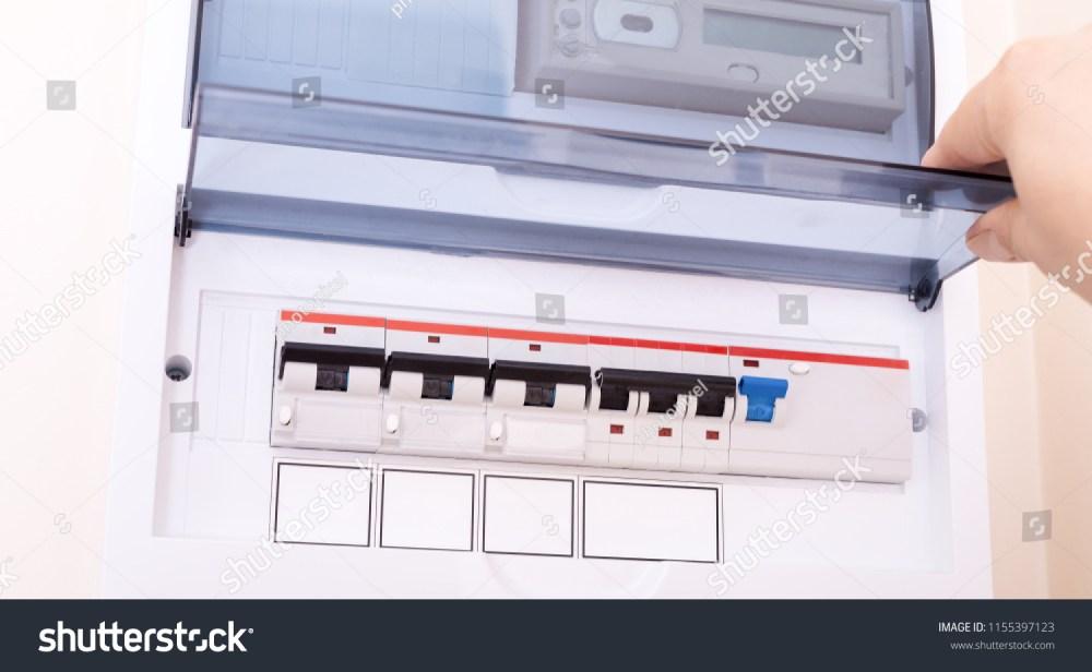 medium resolution of rcd circuit breaker board fusebox at the apartment
