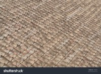 Roof Made Of Ceramic Tiles Stock Photo 1938001 : Shutterstock