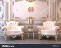 Royal Furniture In Luxury Interior Stock Photo 65047438 ...