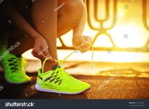 Tying Shoe Laces for Running Shoes