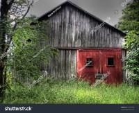 Rustic Red Barn Doors Stock Photo 14157493 : Shutterstock