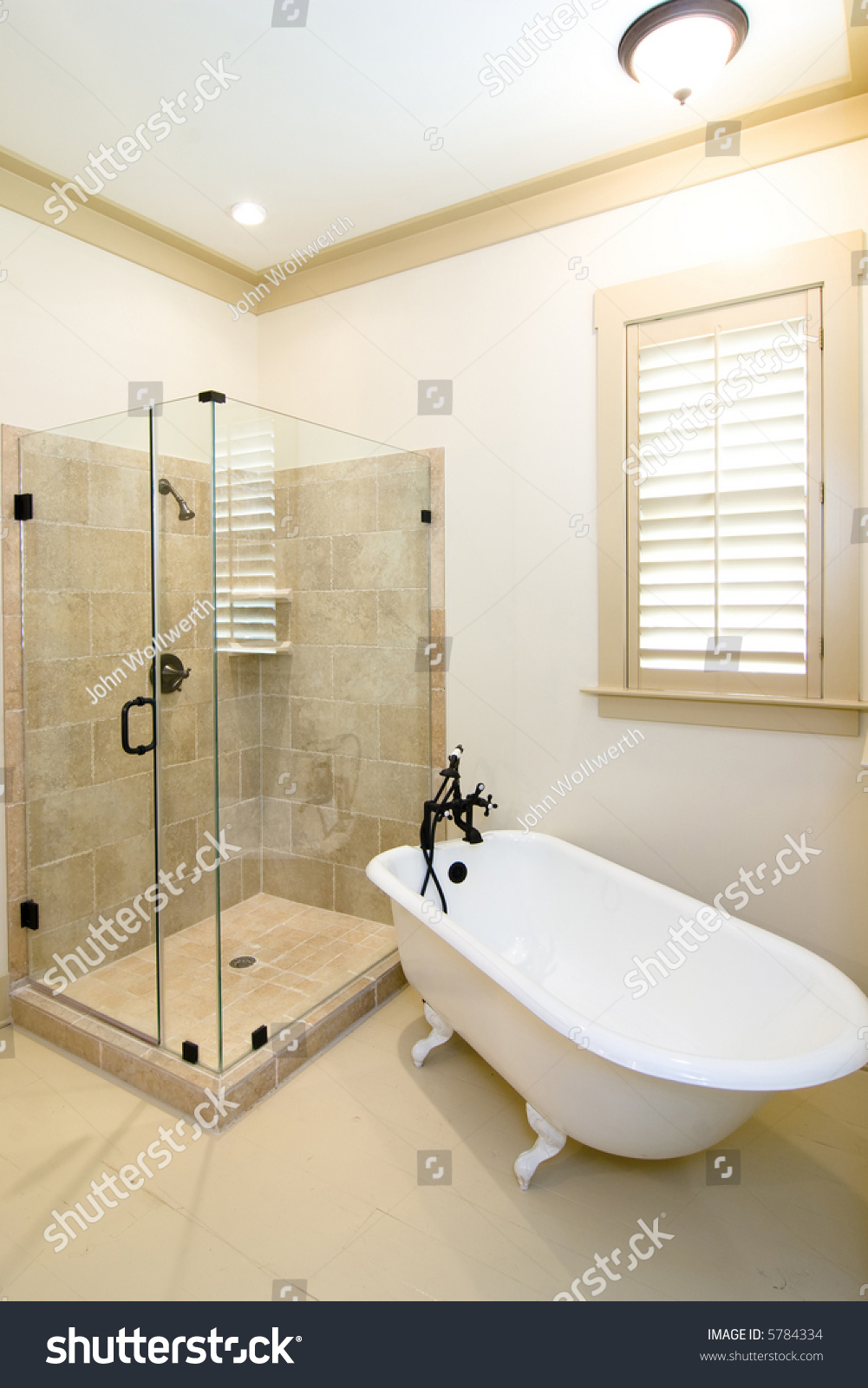 Rustic Yet Elegant Luxury Bathroom Glass Business Finance