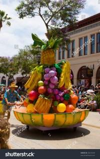 Santa Barbara - June 20: A Fruit Bowl Float, Reminiscent ...