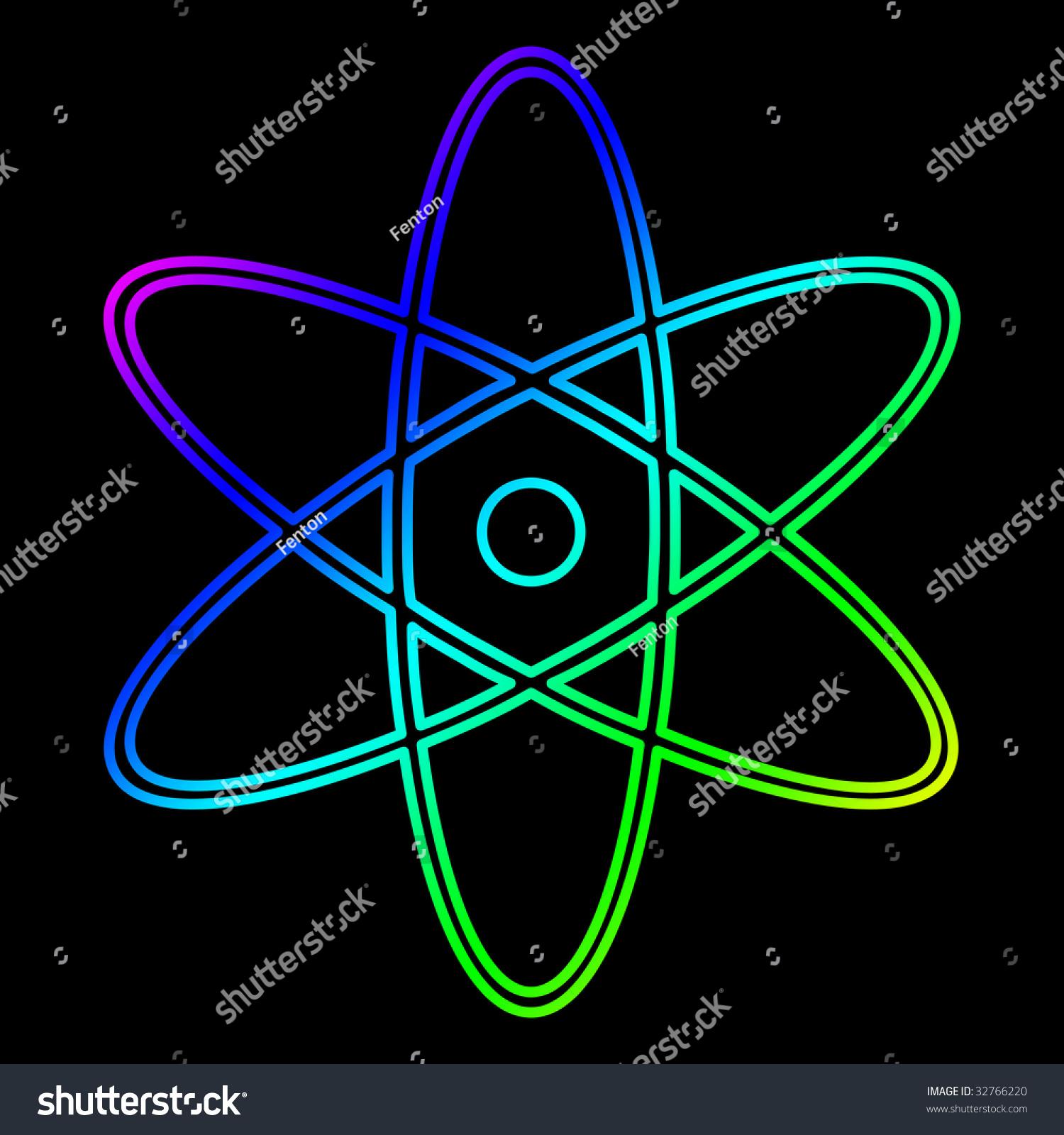 Science Atom Sign Stock Photo Shutterstock