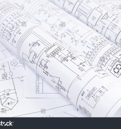 science technology and electronics electrical engineering drawings printing scientific development  [ 1500 x 1101 Pixel ]