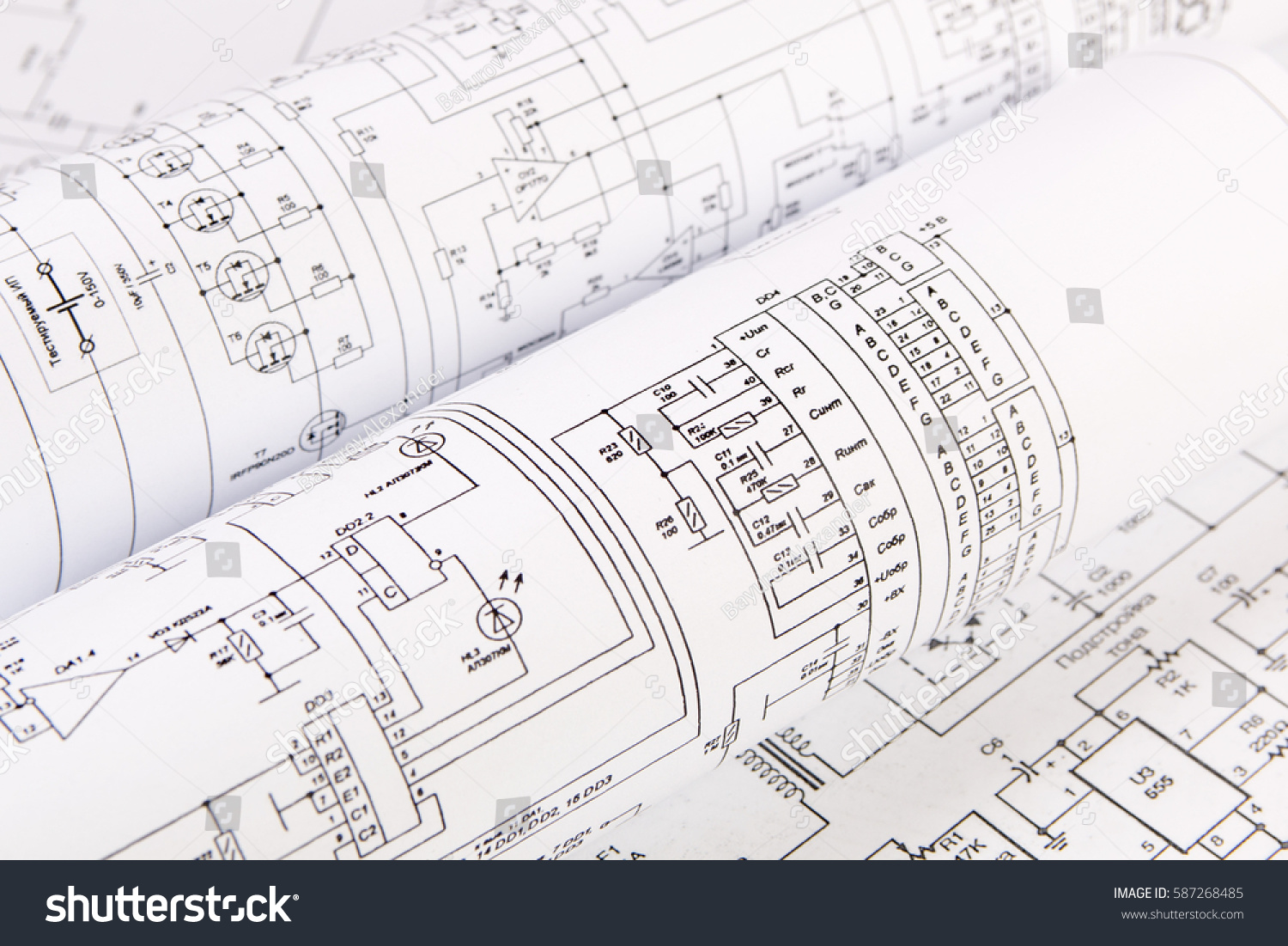 hight resolution of science technology and electronics electrical engineering drawings printing scientific development