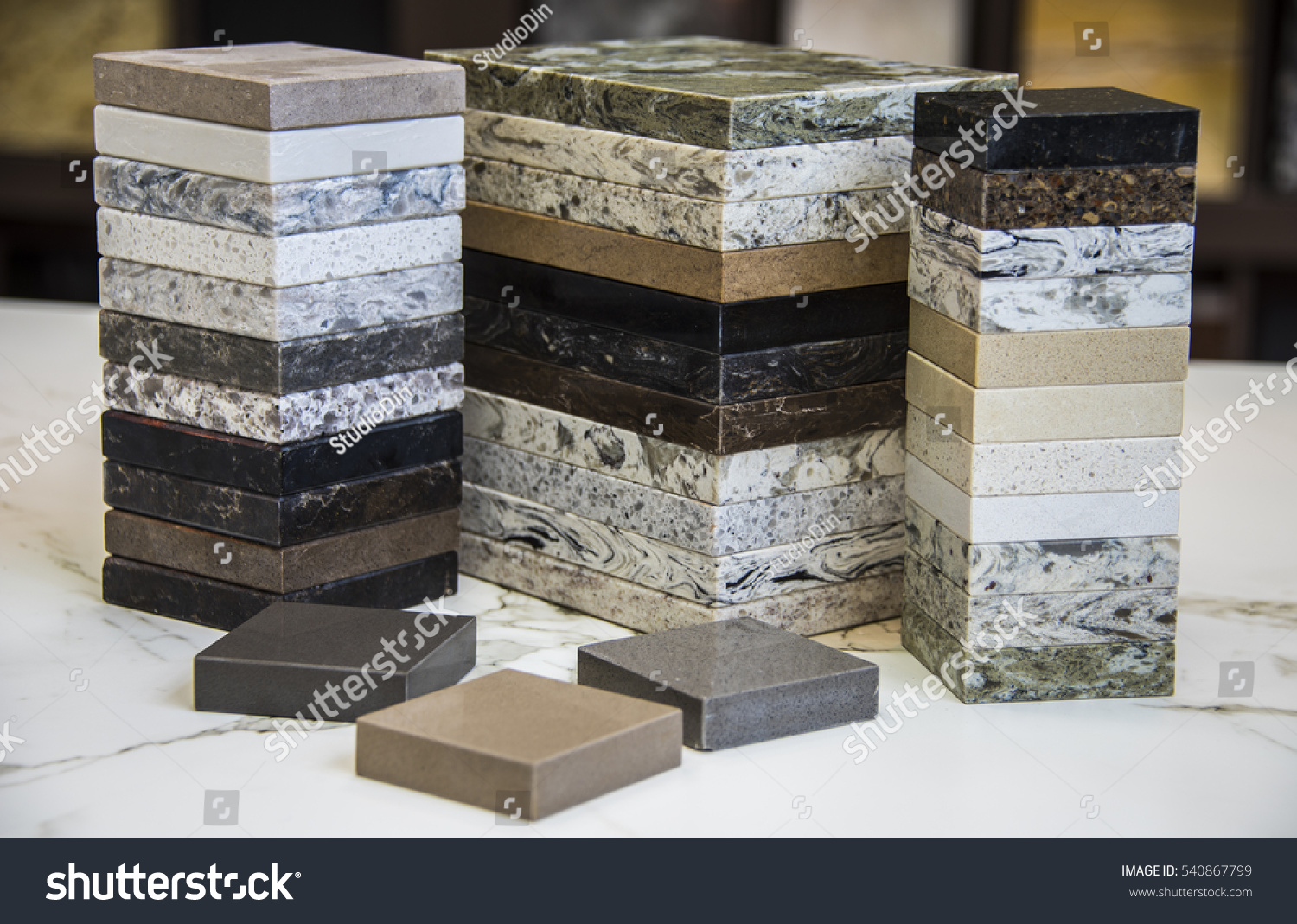 kitchen samples 60 island selection countertops color made stock photo edit of granite marble and quartz stone on white