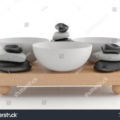Pedicure Chair Accessories Swivel Tk Maxx Set Spa On Wood Desk Stock Illustration