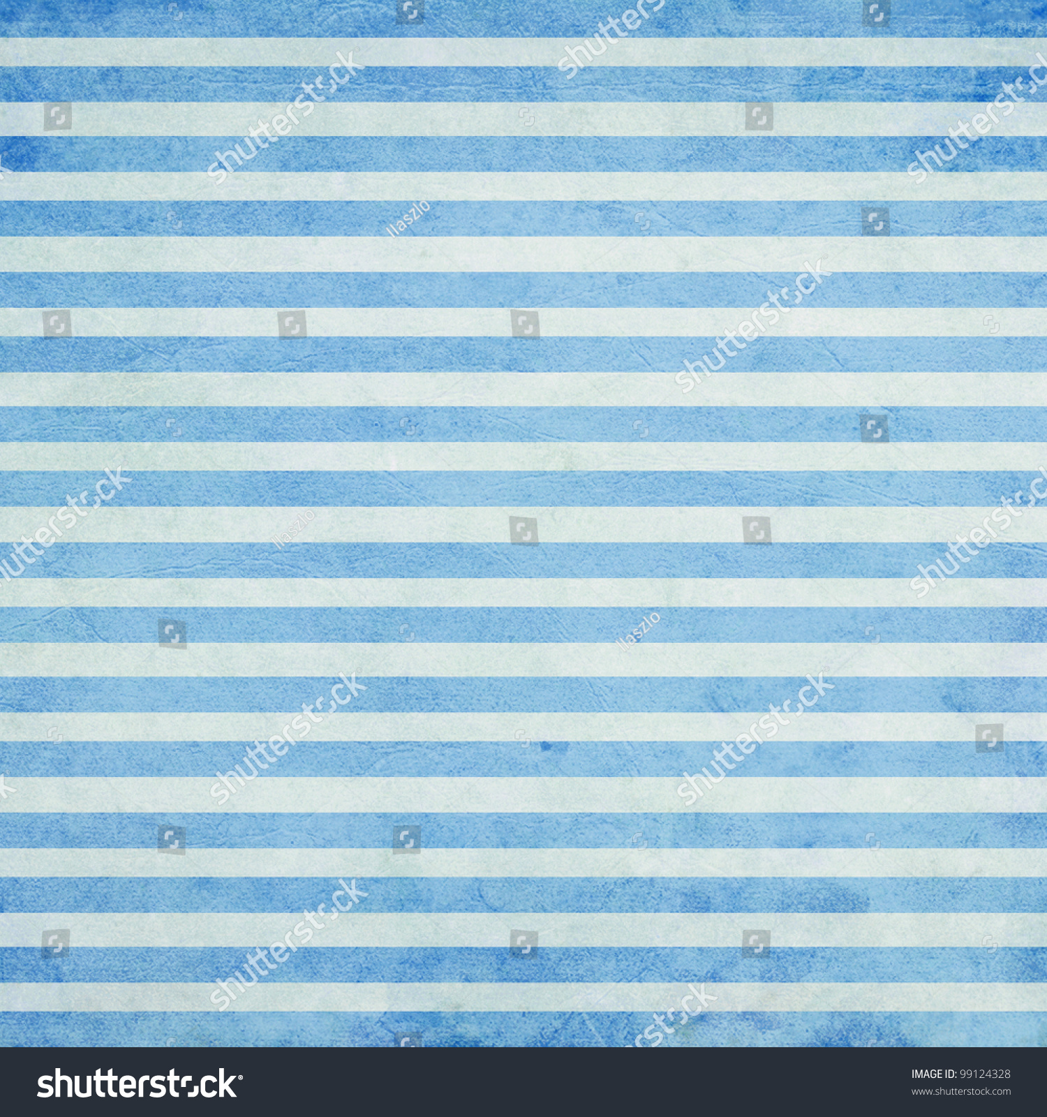 Shabby Textile Background With Colorful Blue And White
