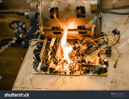 small resolution of short circuit burned cable fire wiring bad cable electric appliance broken