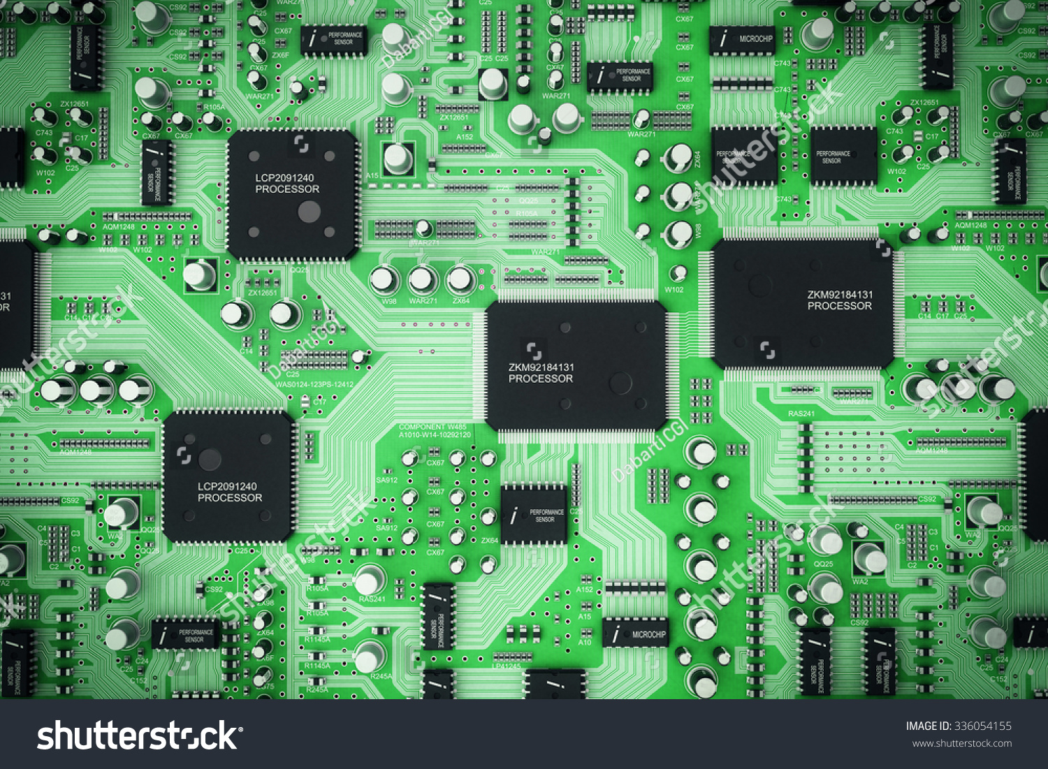 Integrated Circuit Board Nadinechicken