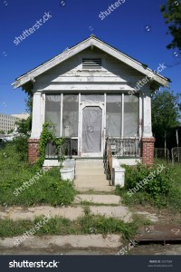 Shotgun Style House In New Orleans Stock Photo 3537084 ...